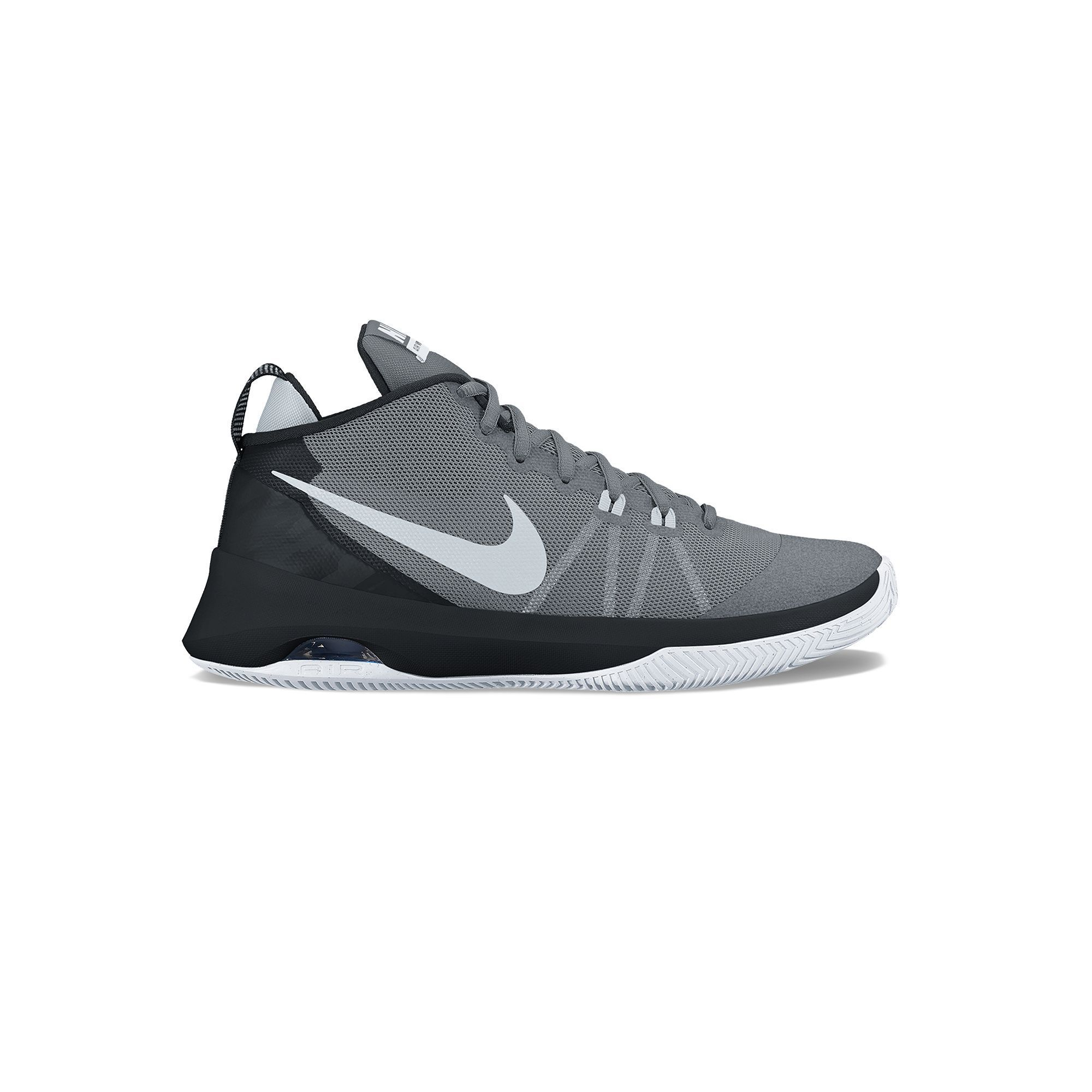 online retailer f1371 62a0b Nike Air Versitile Mens Basketball Shoes, Size 11.5, Grey (Charcoal),  Durable