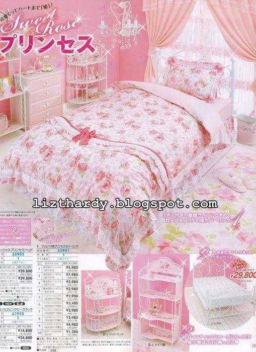 Hime gyaru deco decor pinterest for Decoration chambre kawaii