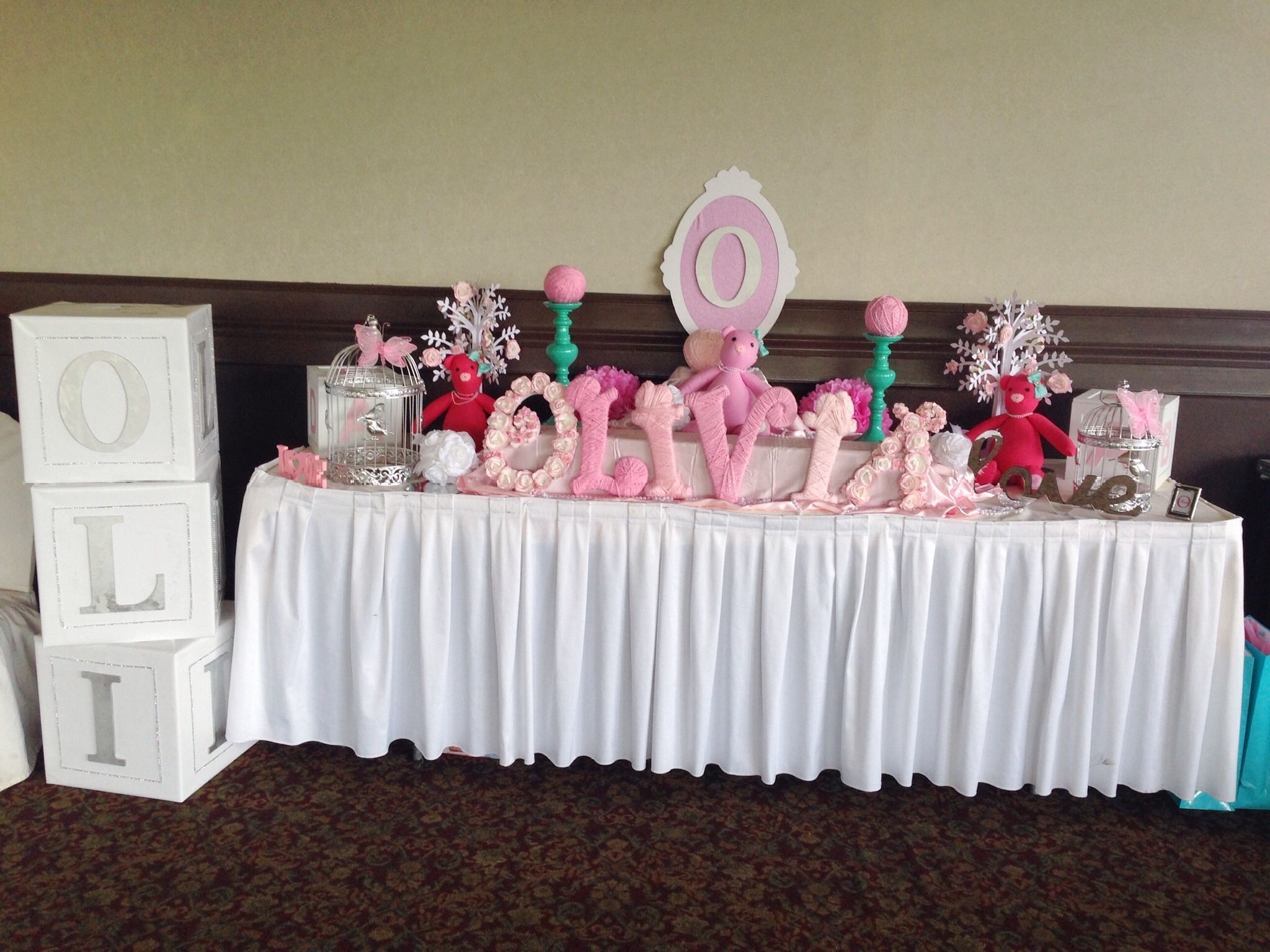 Baby Shower Main Table Image collections Baby Shower Ideas