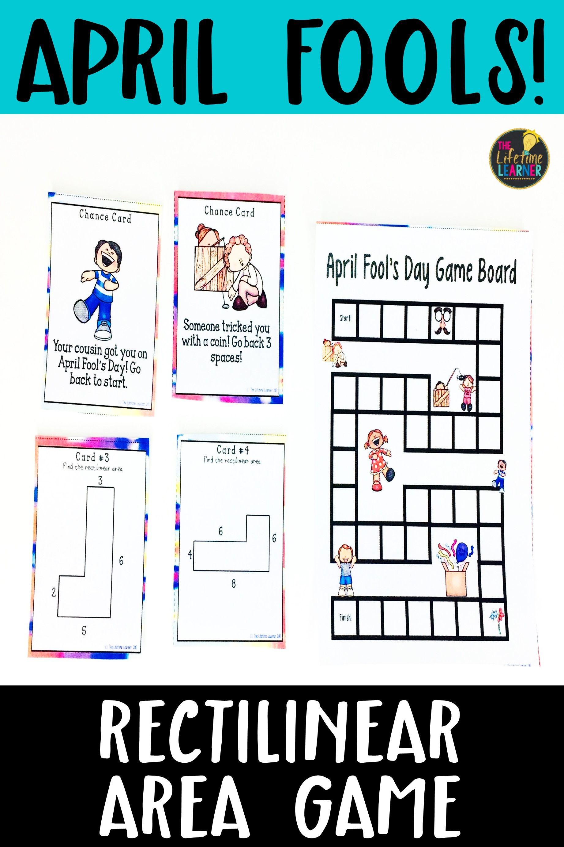 April Fool S Day Math Game