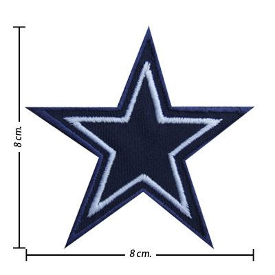 NFL Dallas Cowboys Embroidered Iron On Patch. by noieasyshop ... fd22b2cff