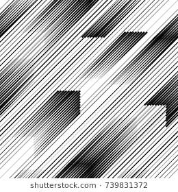Seamless Pattern With Speed Lines Triangles Unusual Poster Design Repeating Diagonal Slanting Geometric Shapes Art Seamless Patterns Graphic Design Pattern