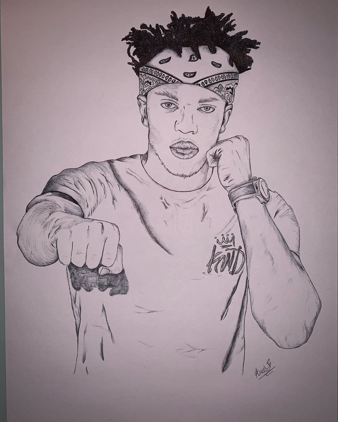 Original Drawing Of Ksi Message If Interested And Drawn