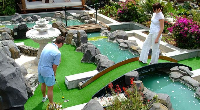 Mini Golf At Regency Country Club Tenerife With Images Golf