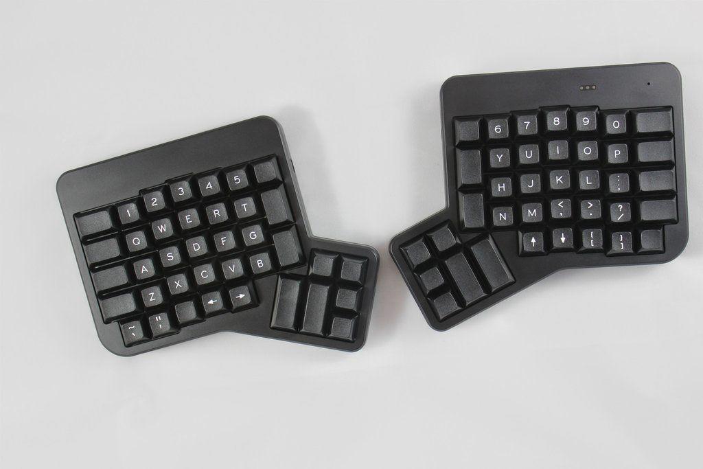 Columnar layout ergonomic keyboard & ErgoDox EZ. Columnar layout ergonomic keyboard   Ergonomic ...