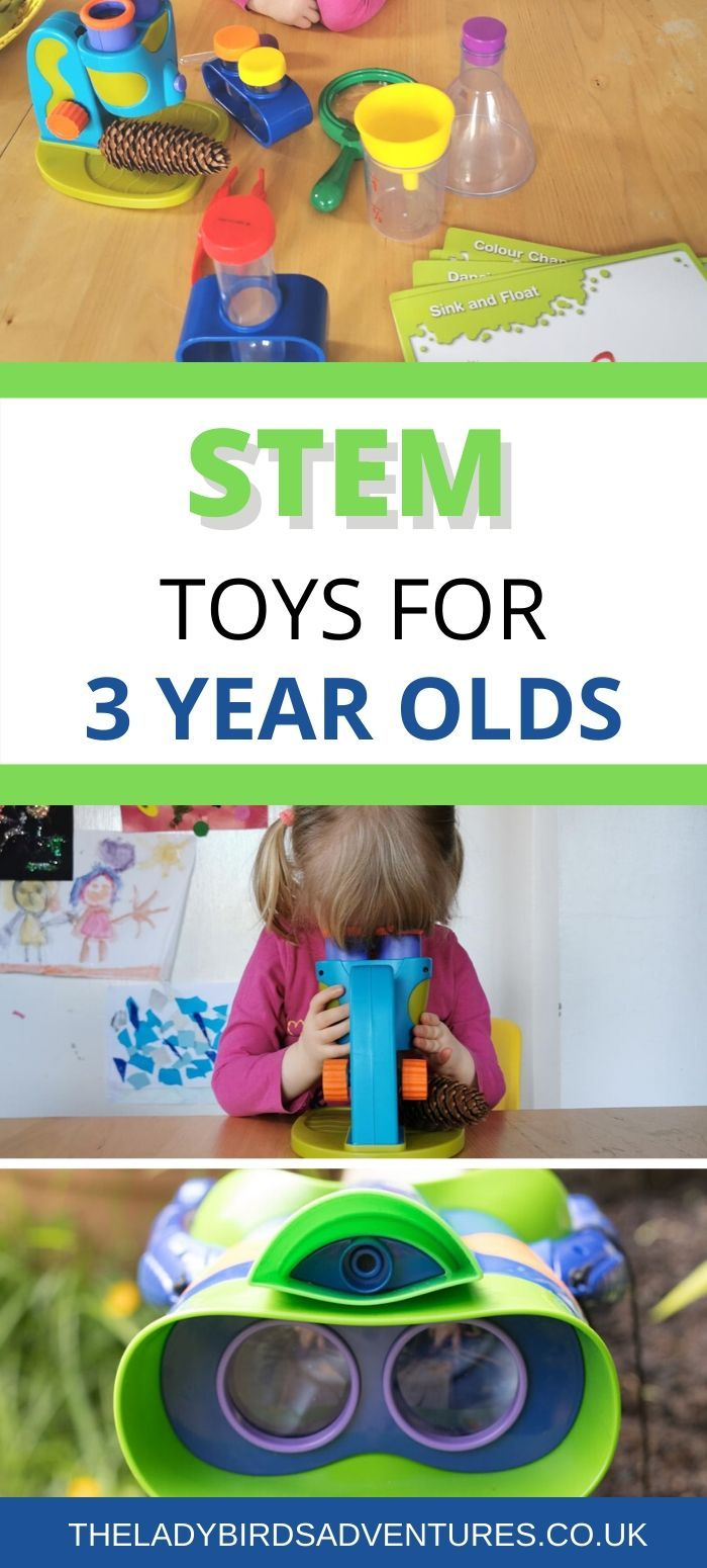 Best STEM toys for three year olds - AD - British Science ...