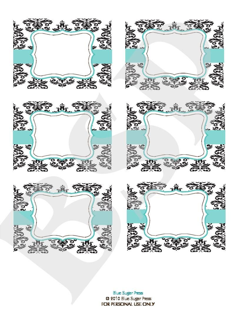 free candy buffet printables | Candy Buffet Labels ...