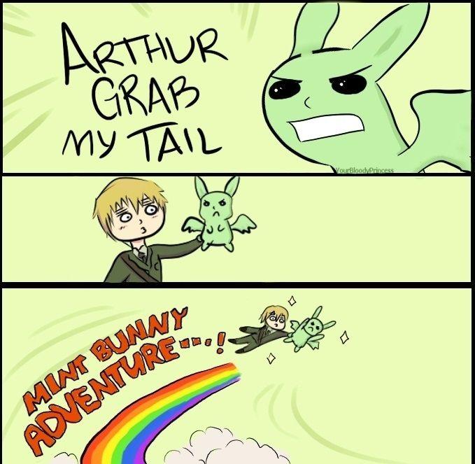 Mint Bunny Adventure!!!!!! :D