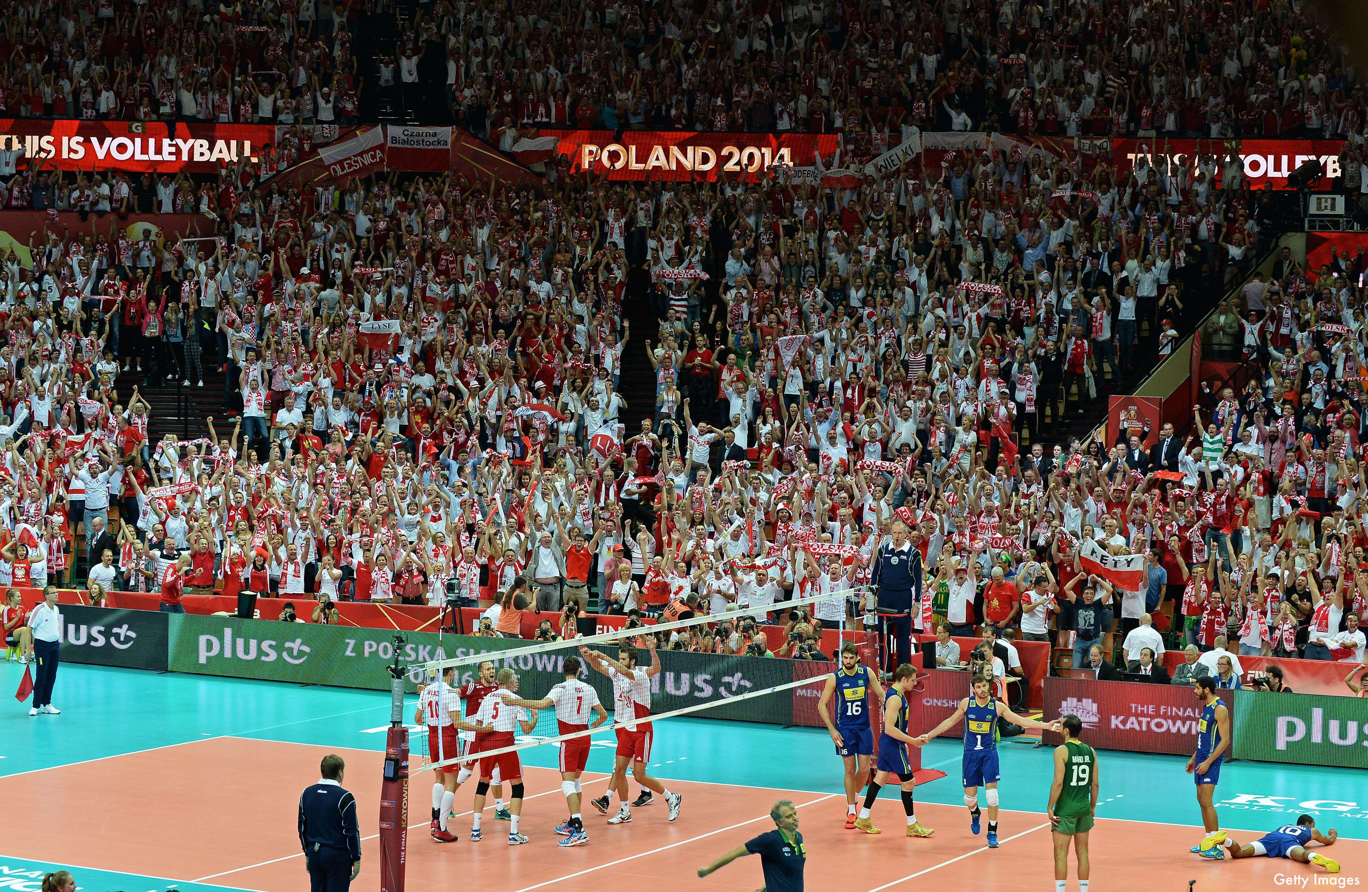 This Video Of Poland Winning The World Volleyball Championship Is The Best Clip You Ll See This Week Poland Volleyball Brazil Olympics