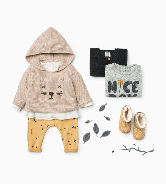 Jersey de punto. Bebé Niña – Niños   ZARA España   outfits
