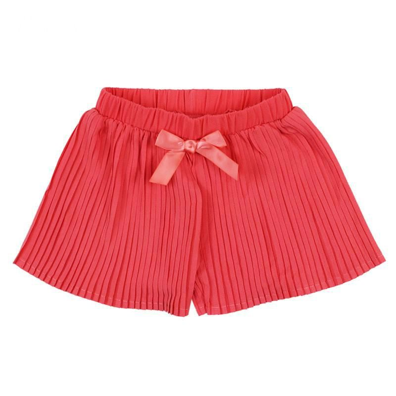 Children's Clothing Kids girl bow Harem Chiffon Shorts Pants loose Cross Trousers kids Clothes
