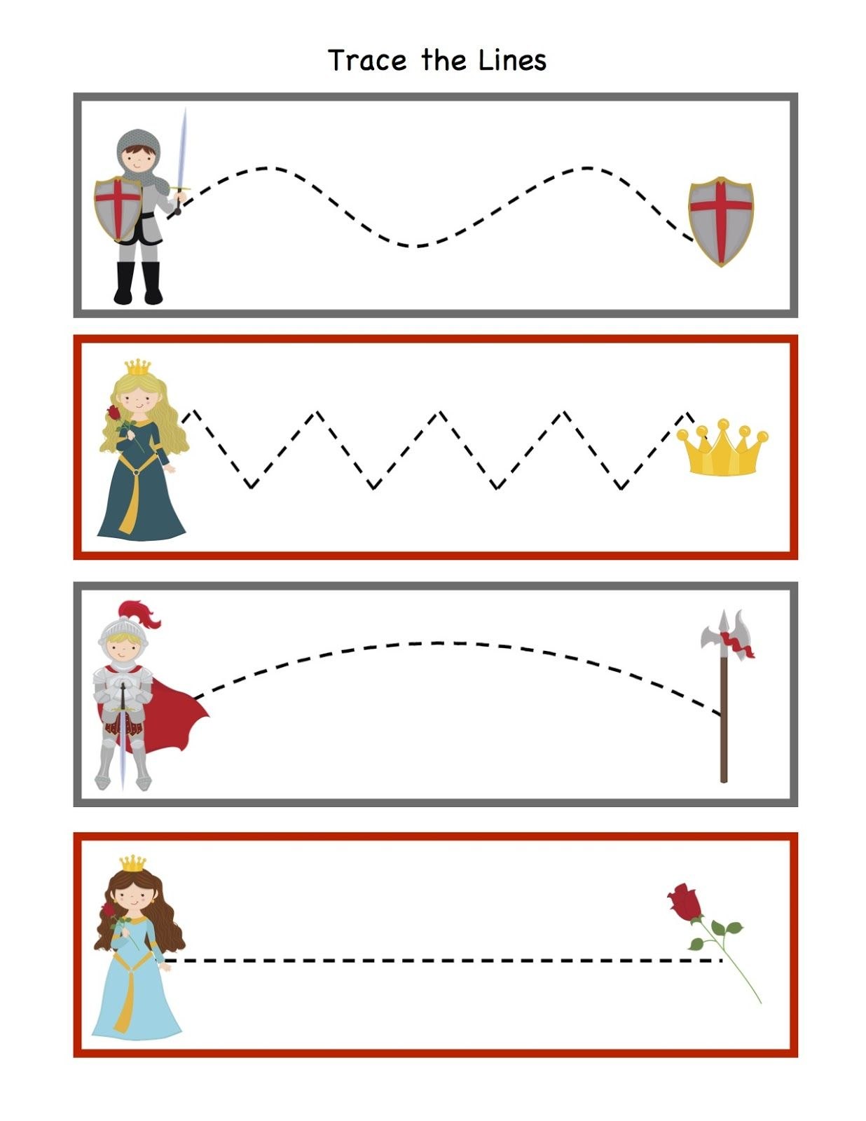Preschool Printables Knight Printable