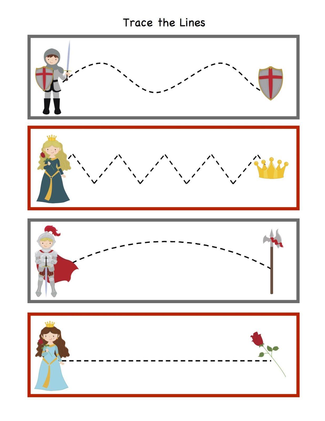 Preschool Printables Knight Printable