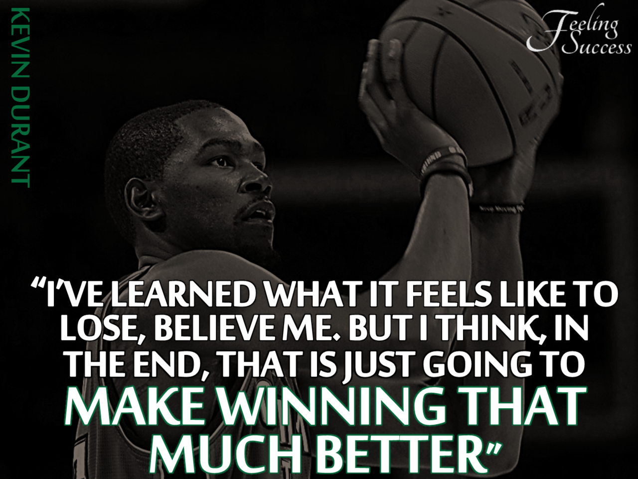 Basketball Motivational Quotes Stunning Kevin Durant Quote  Bbk Inspirational Quotes  Pinterest  Kevin . Design Inspiration