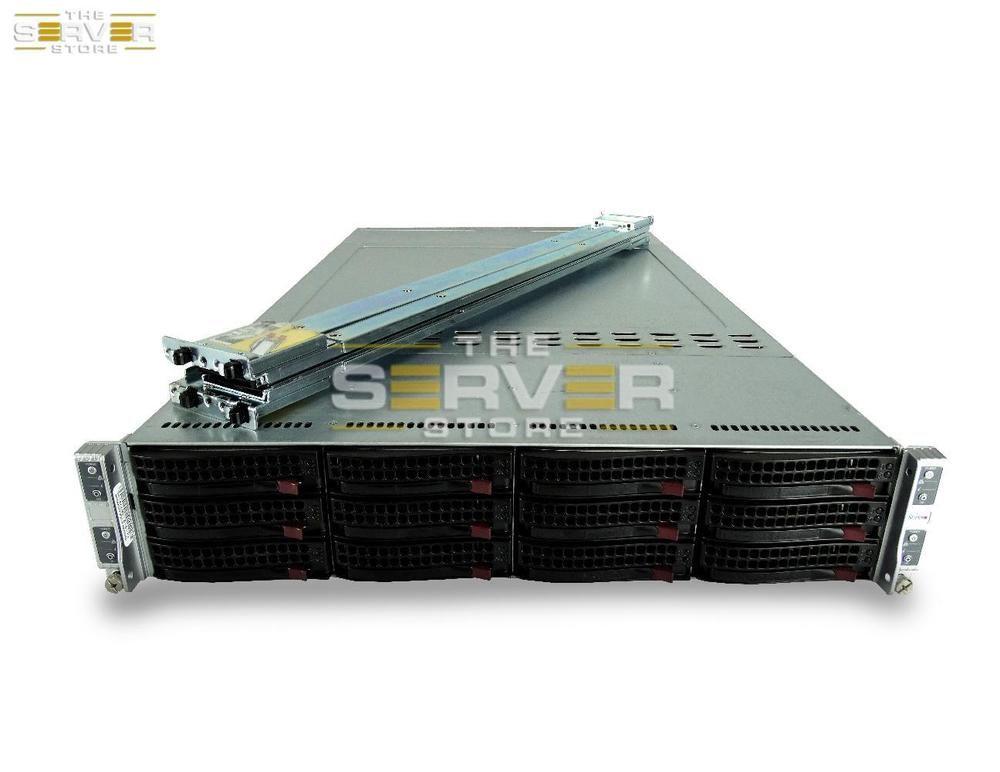 Details about SuperMicro 6026TT-HIBQRF-SG007 2U 4-Node X8DTT