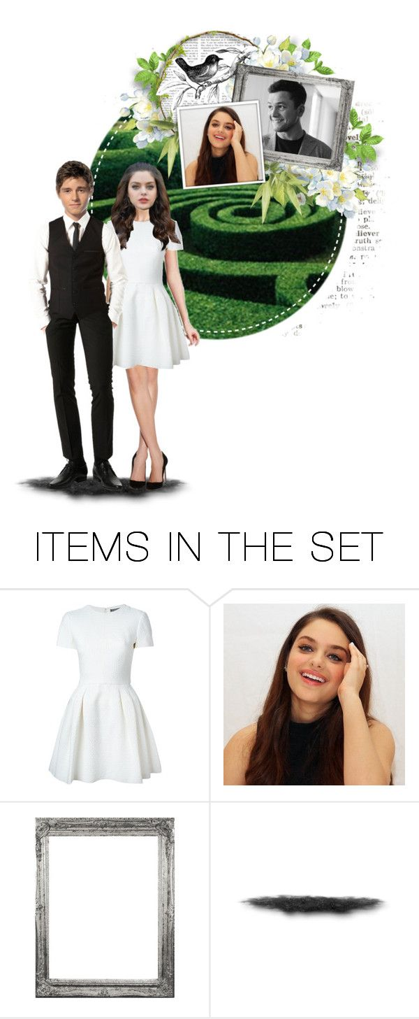 """""""tbf // tspv: elite round 2 // the twist"""" by slightlyterrified ❤ liked on Polyvore featuring art"""