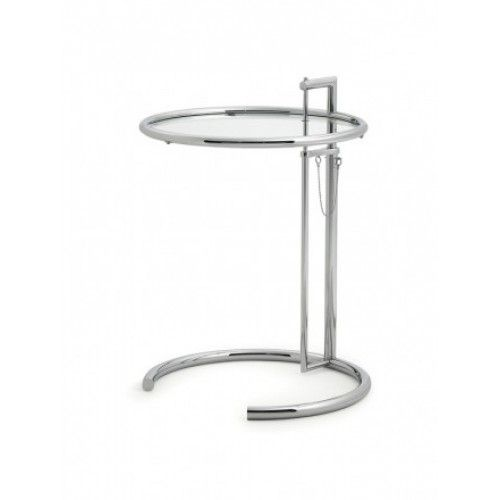 Eileen Gray Möbel adjustable table e 1027 chrom eileen gray classicon möbel