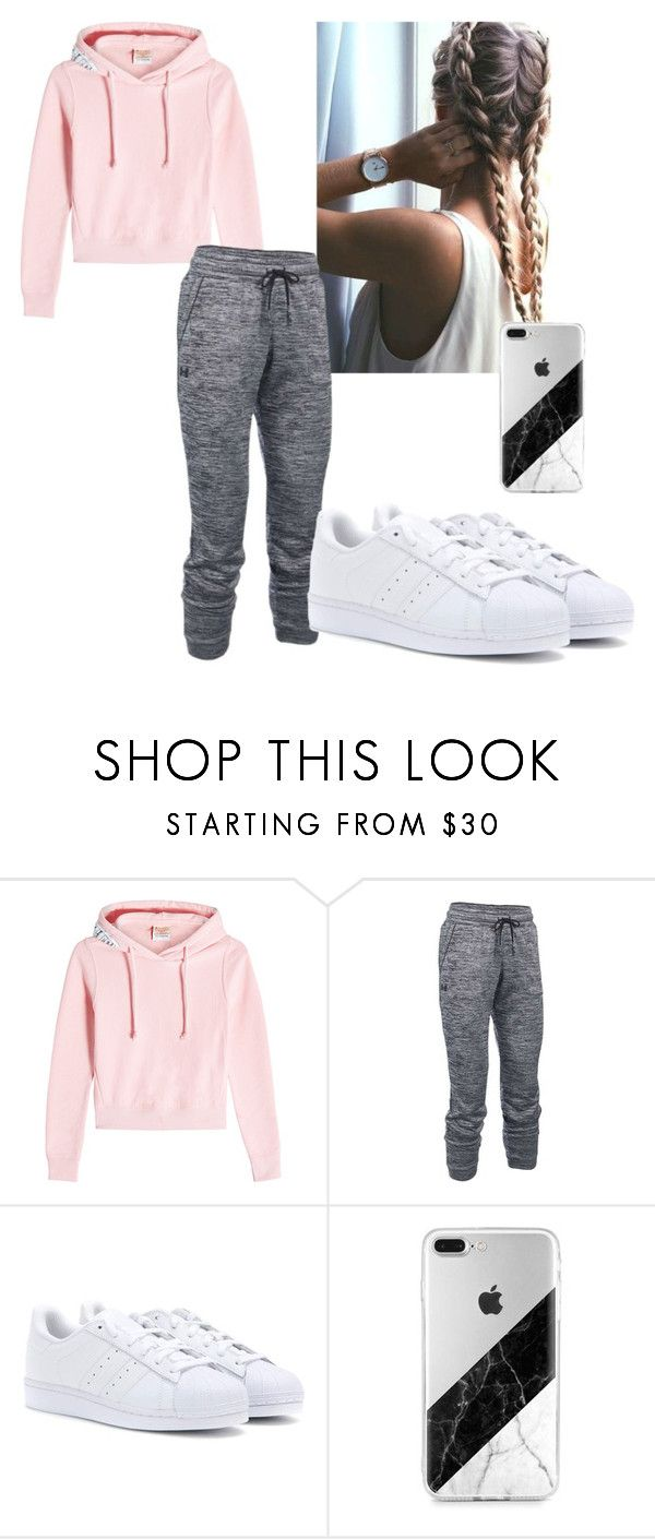 """""""Untitled 47"""" by bre-winter ❤ liked on Polyvore featuring Vetements, Under Armour and adidas"""