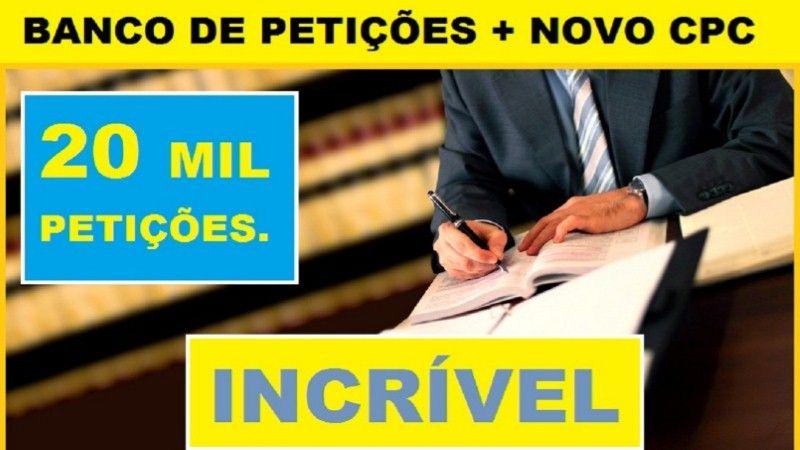 Banco De Peticoes Novo Cpc Banco De Peticoes Download Novo Cpc Peticao E Modelo De Peticao