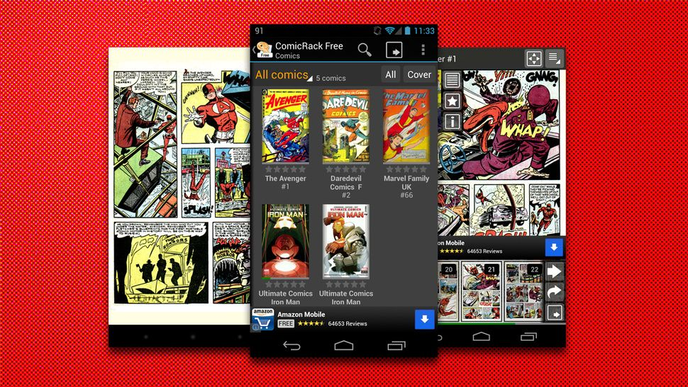 The Best Comic Reader App for Android Fun comics, Manga