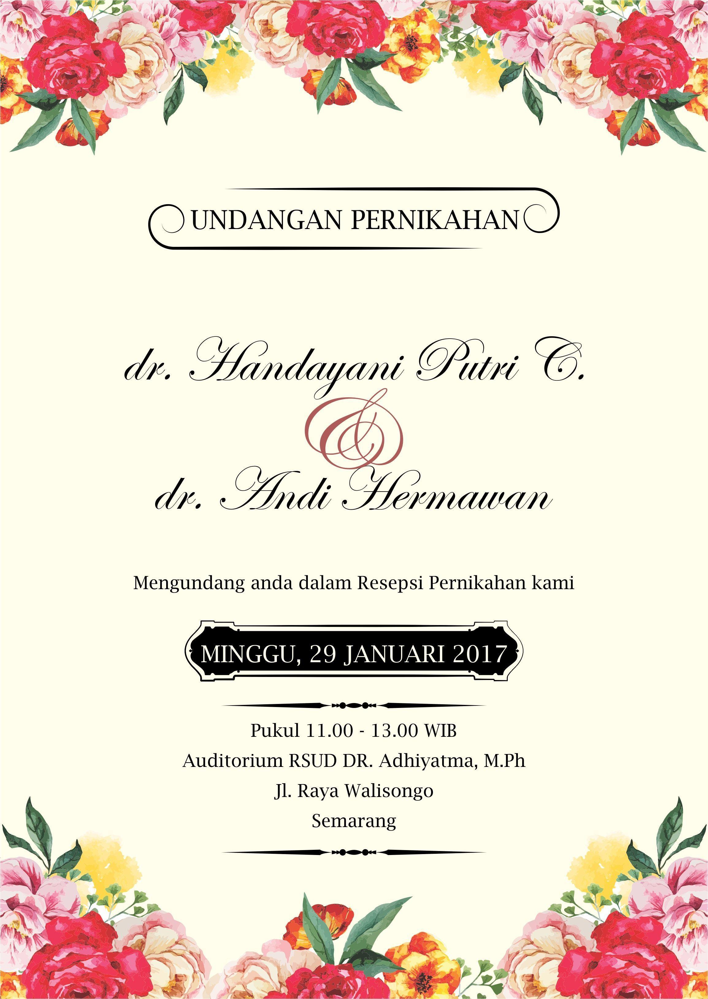 Pin Oleh Solihul Amali Di Wedding Invitations Di 2020 Pernikahan Bunga Kartu Pernikahan Contoh Undangan Pernikahan