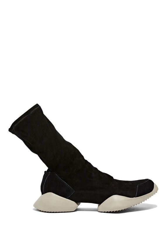 adidas by Rick Owens Vicious Sole Suede Ankle Boot