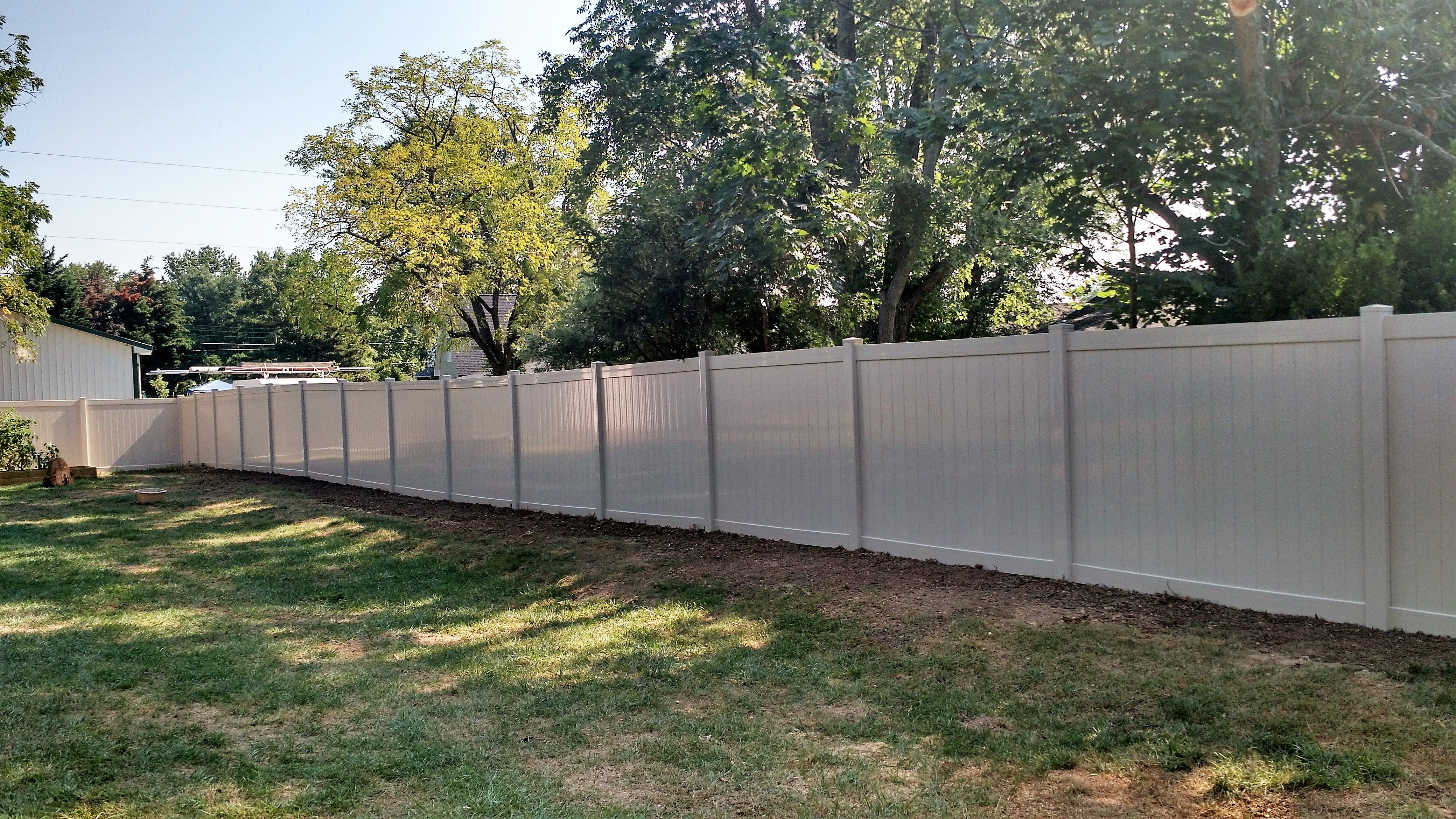 Vinyl Privacy Fence Color Almond Vinyl Fence Colors Vinyl Fence Panels Fence Panels For Sale