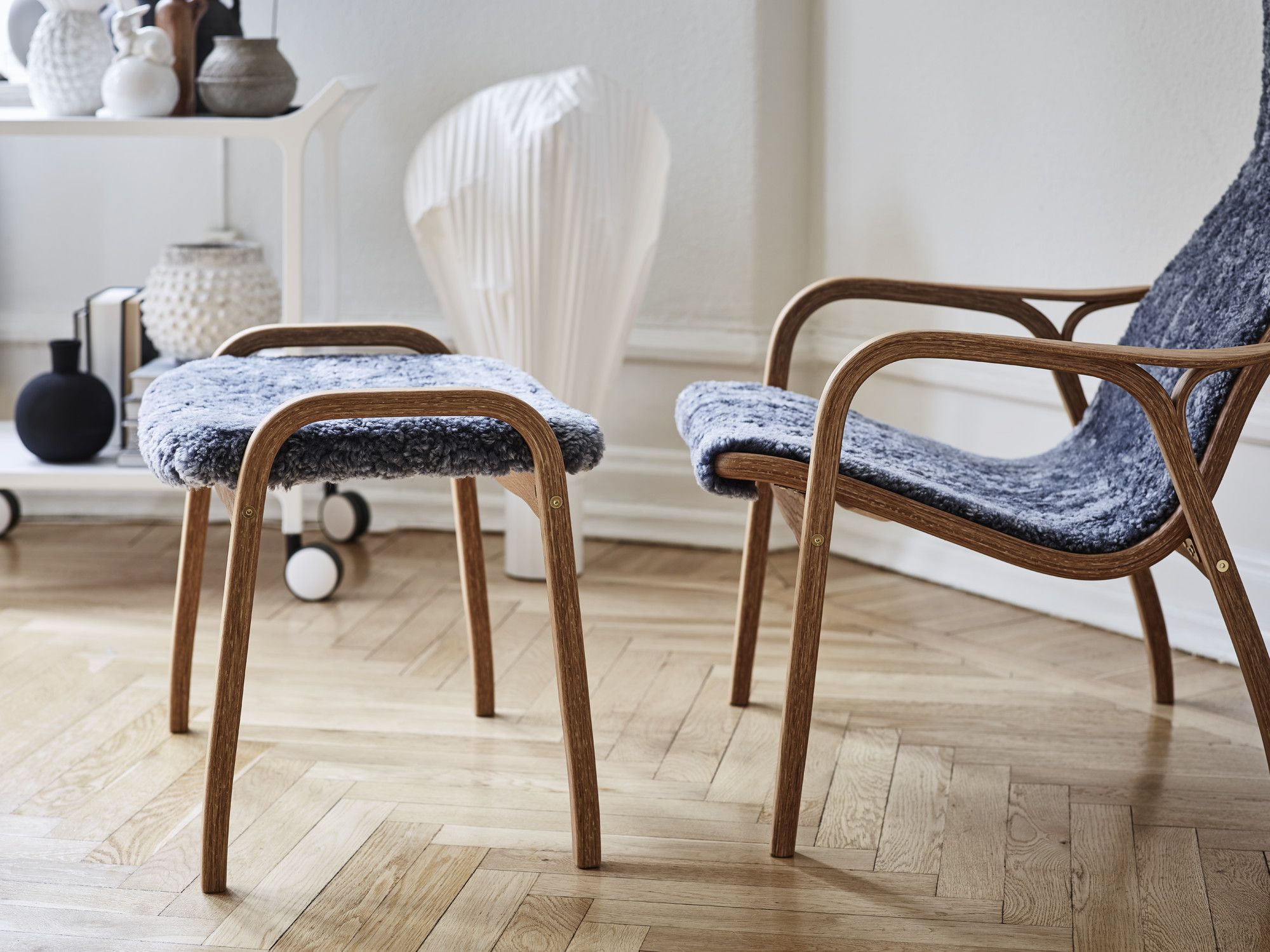 Lamino is a prime example of timeless design. Nature's own materials and masterful craftsmanship have resulted in a piece of furniture as attractive today as it'll be for future generations. When Yngve Ekström designed the chair in 1956, he did it with the human being in focus, which makes it as pleasant to sit in as it is to look at.