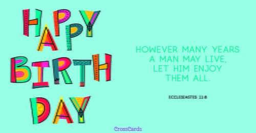 Send This FREE Happy Birthday ECard To A Friend Or Family Member Free Ecards Your Friends And Quickly Easily On CrossCards
