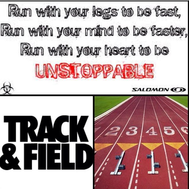 Trackn And Field Quotes Track And Field Track Track Quotes