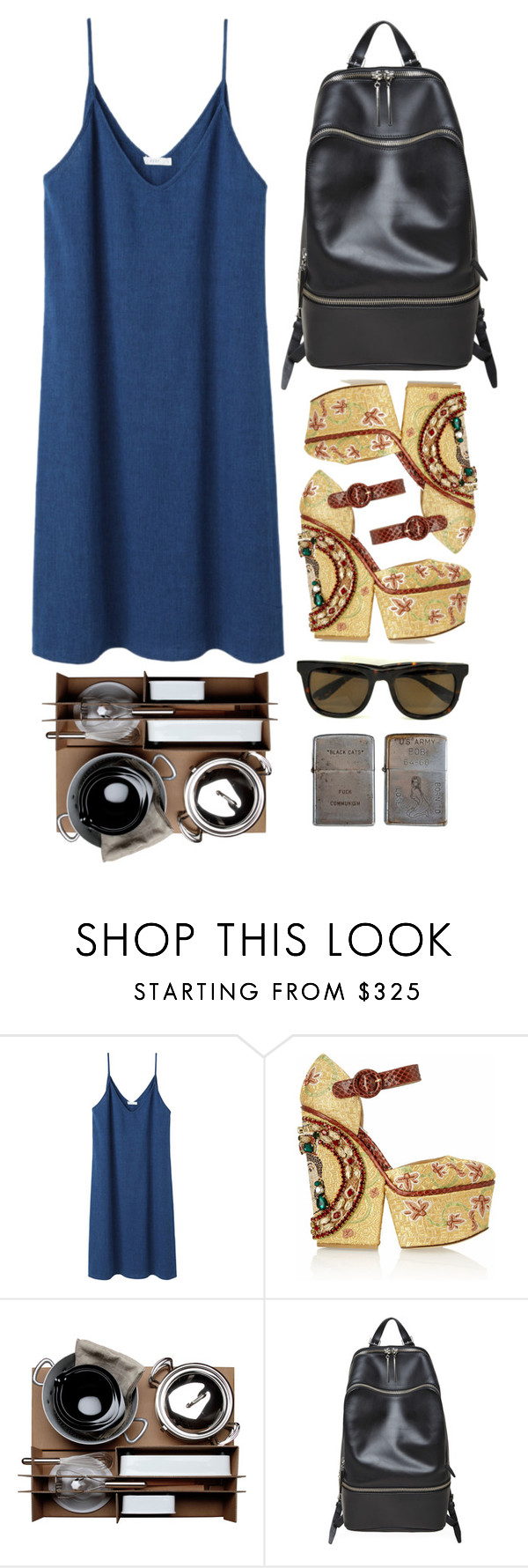 """Untitled #543"" by laughtersassassin ❤ liked on Polyvore featuring 6397, Dolce&Gabbana, Malle W. Trousseau, 3.1 Phillip Lim, Zippo, women's clothing, women, female, woman and misses"