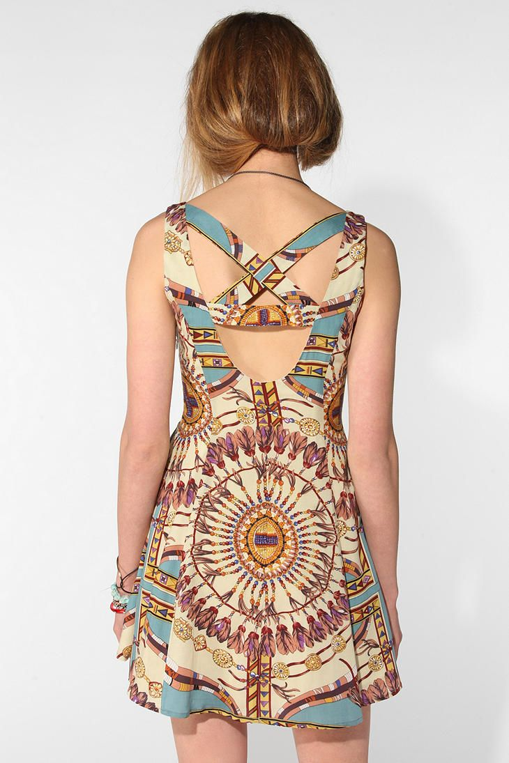 We all shine by minkpink tarot reader dress fashion senses