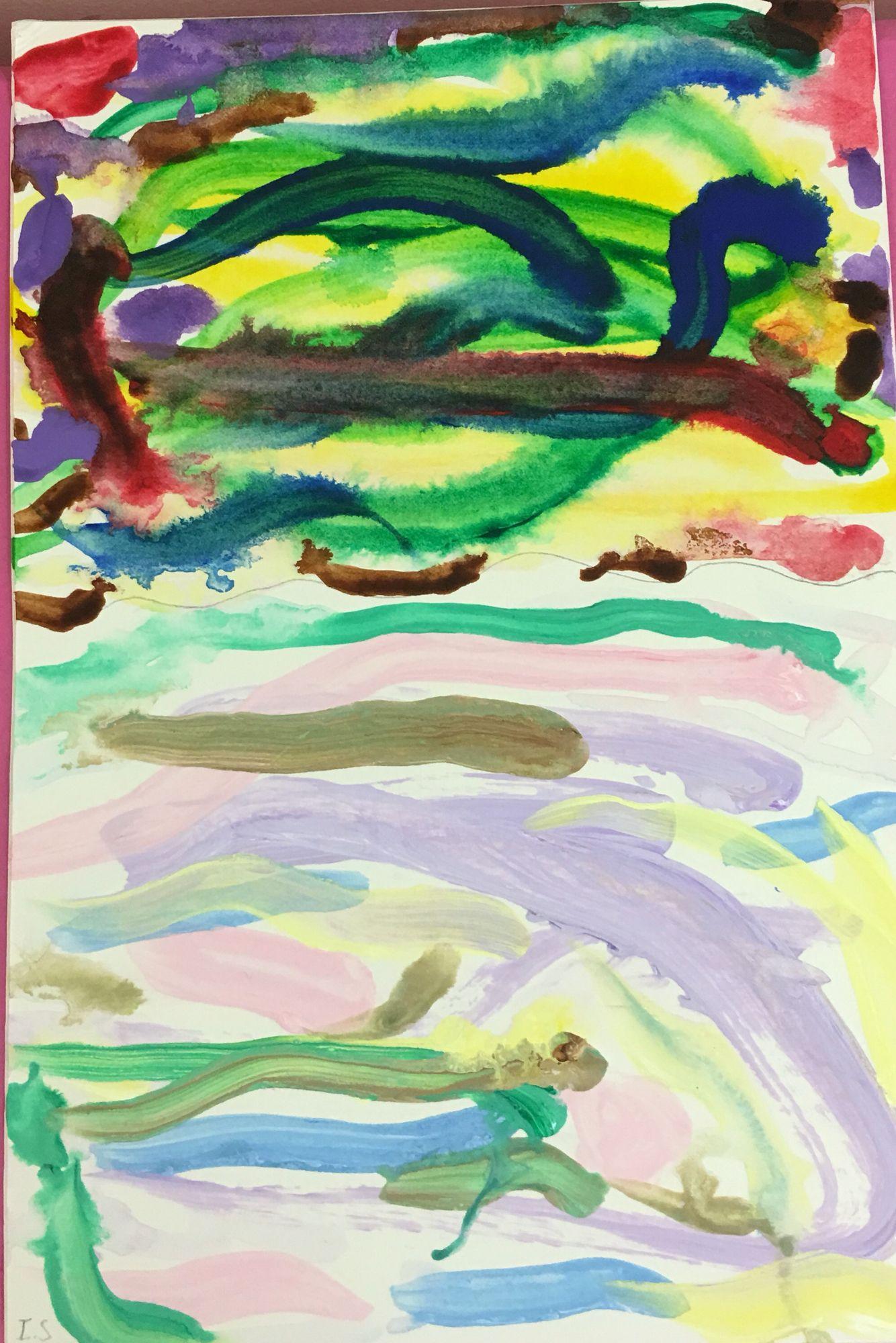 Watercolour Tints Art Painting Watercolor
