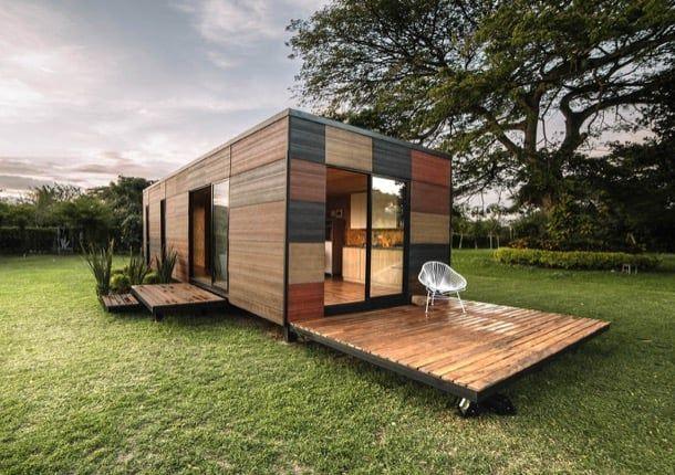 VIMOB casas modulares prefabricadas Los arquitectos de Colectivo - casas modulares