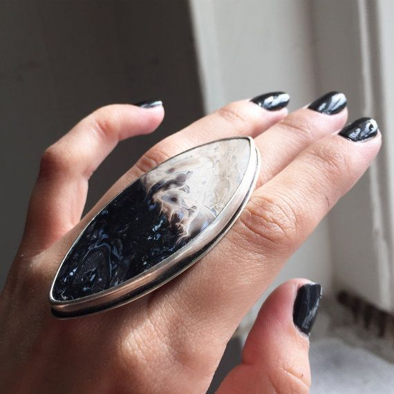 Descent of Persephone Ring  Coven Collection  by SoliloquyJewelry