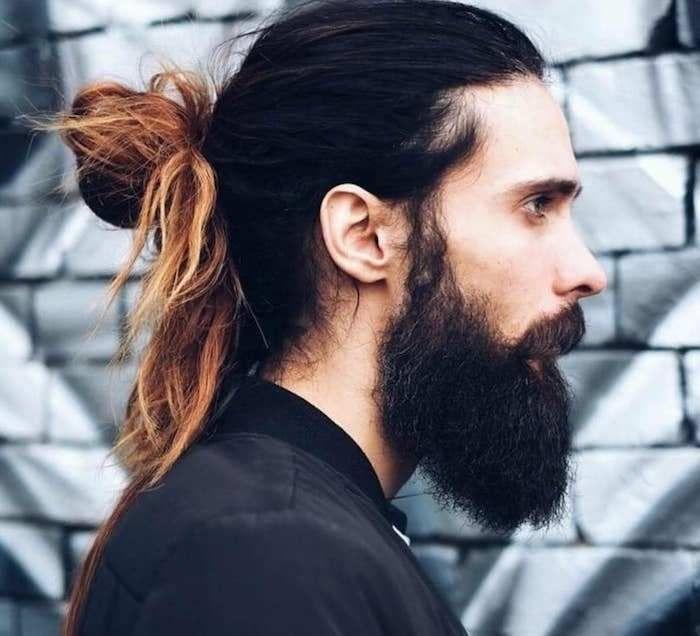 Männer Dutt Frisuren - | Long hair styles men, Mens