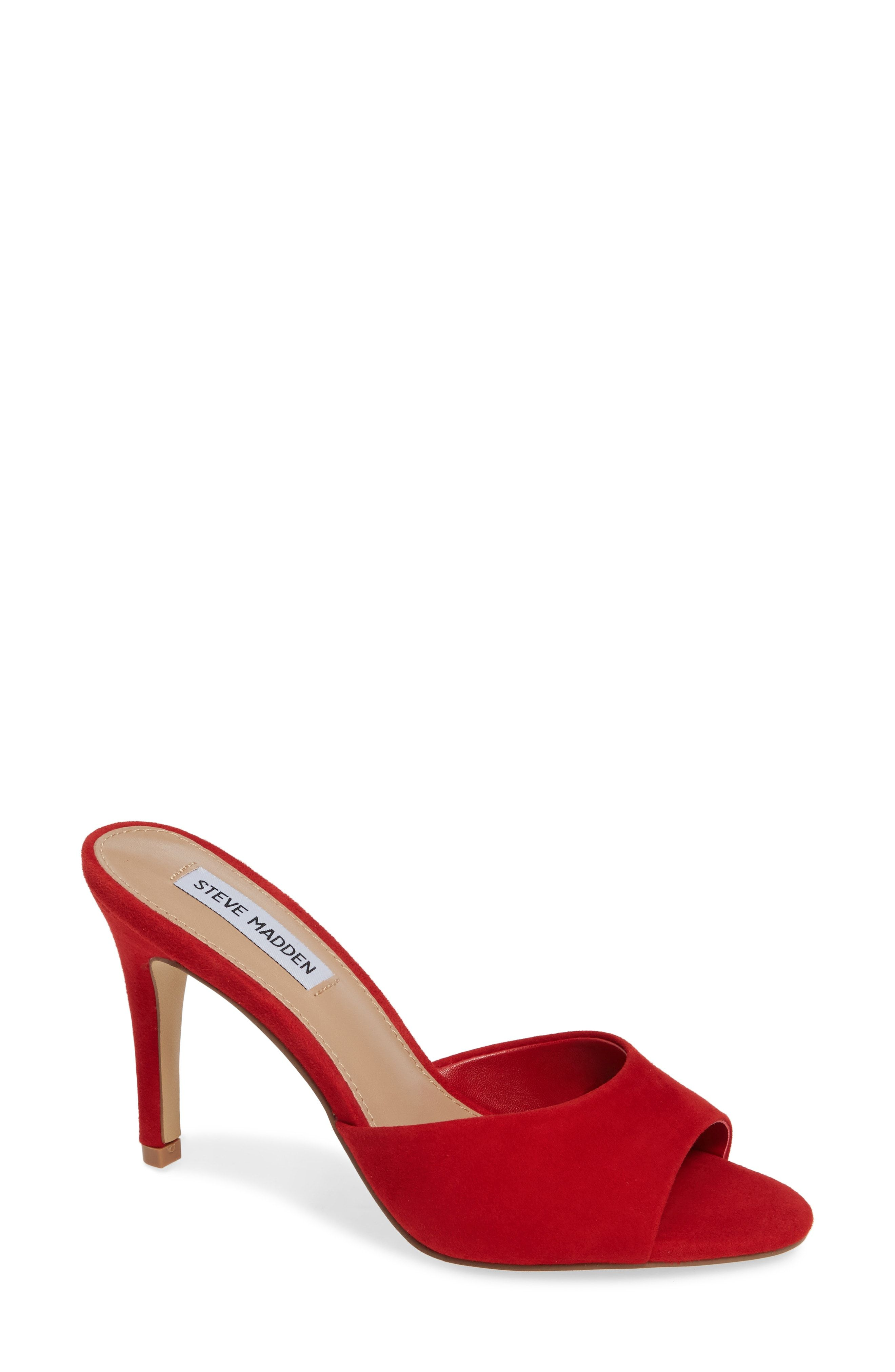 e86b52c755f Pretty red Steve Madden heels for the holidays! | Holiday Style ...