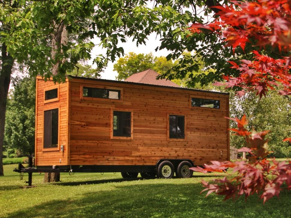 Rooms Viewer Cheap Tiny House Tiny House Exterior House On Wheels