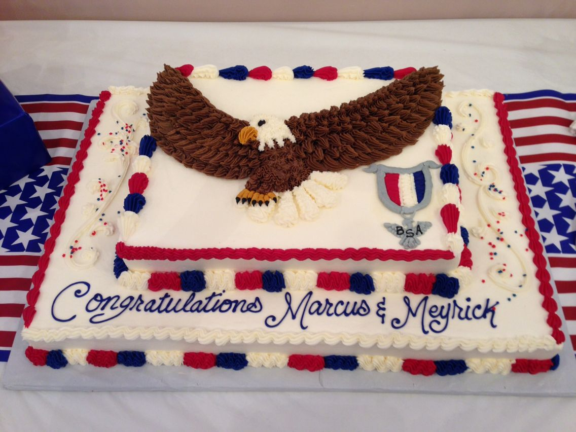 Eagle Court Of Honor Cake With Images Eagle Scout Cake Eagle