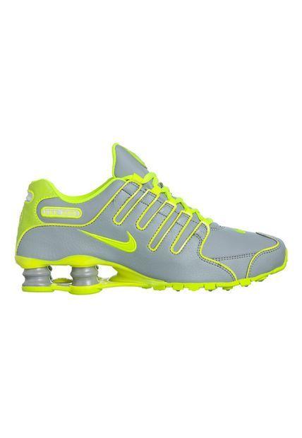 promo code 307e1 bb748 Tenis Nike SHOX BRANCHOS en color gris verde para mujer. Ofrecen  flexibilidad, apoyo
