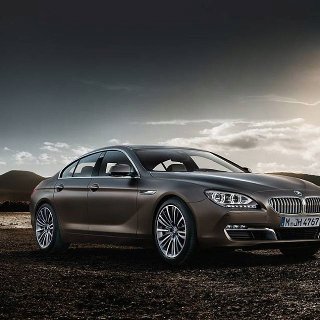 BMW 6series grand coupe;) I deserve this car