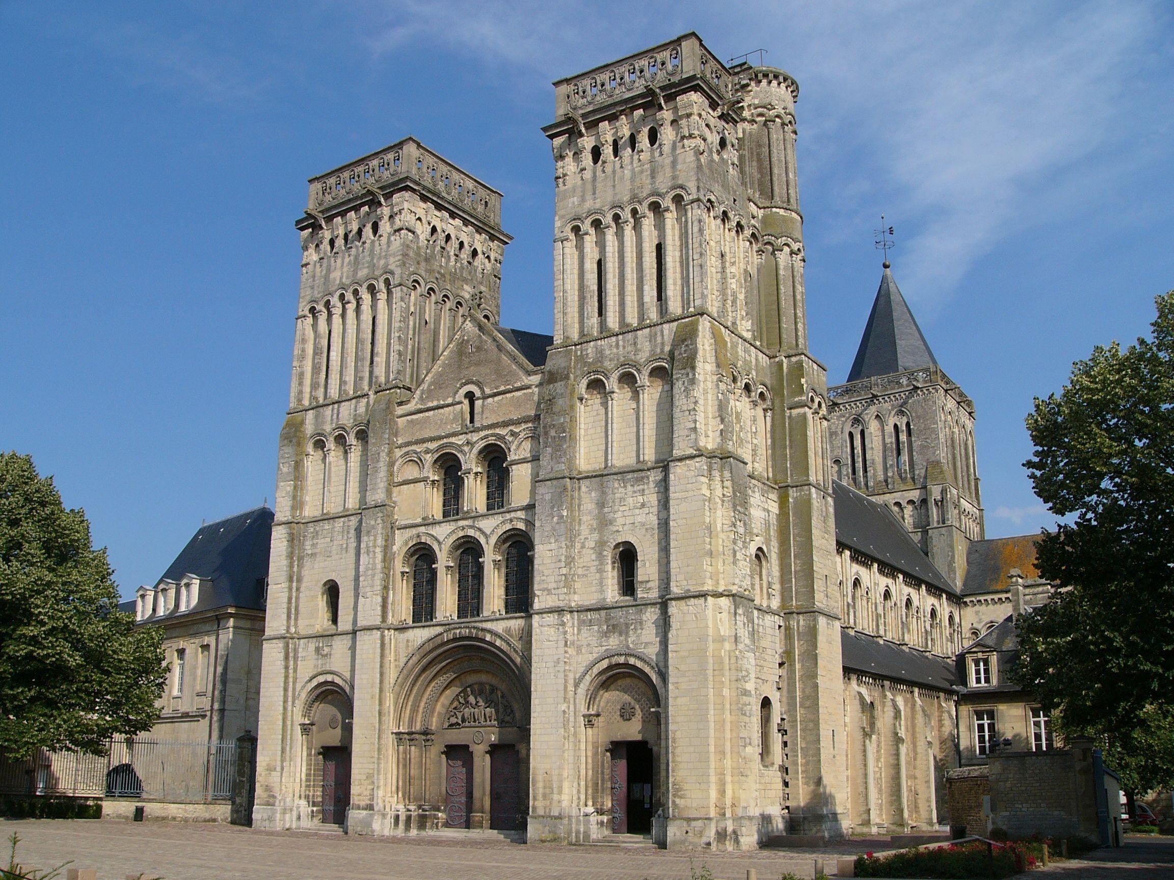 Church of the Abbey of Sainte-Trinité (the Holy Trinity ...