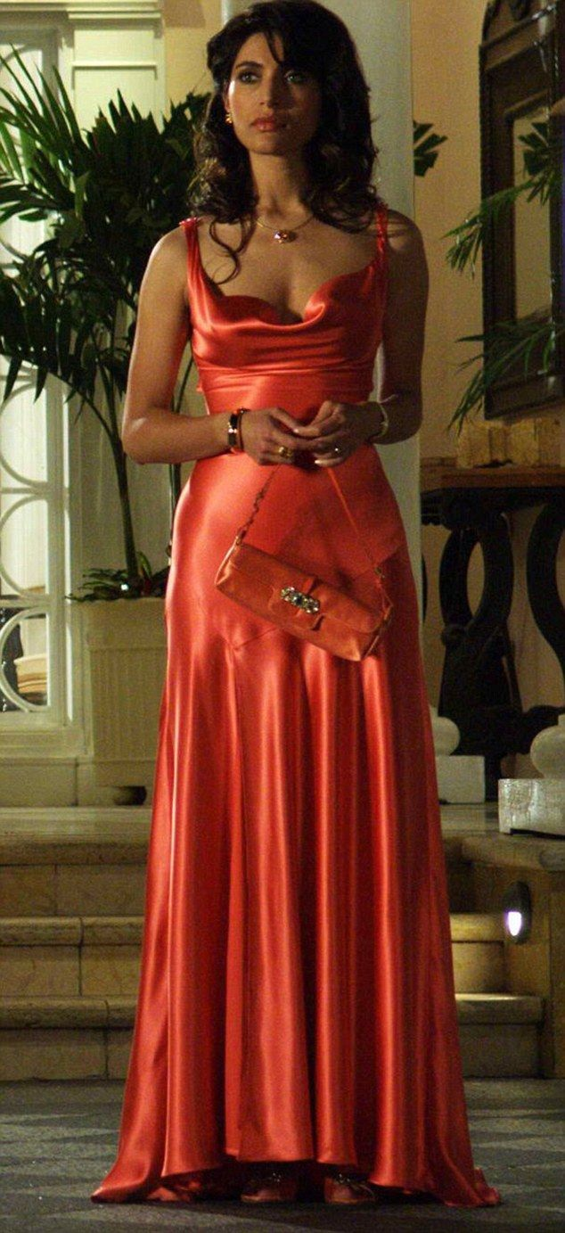 03ec99d7 Caterina Murino played Solange Dimitrios who went home with Bond moments  after meeting him