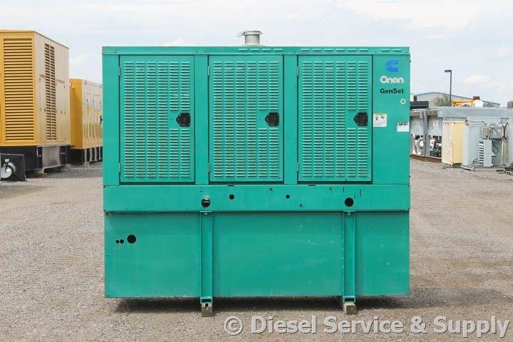 For Sale  Cummins 150 Kw Standby Diesel Generator Model    150dgfa Serial    G980771688 Year