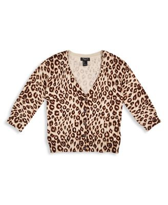 Leopard Print Cardigan | Forever 21 girls | Toddler Girl Clothing ...