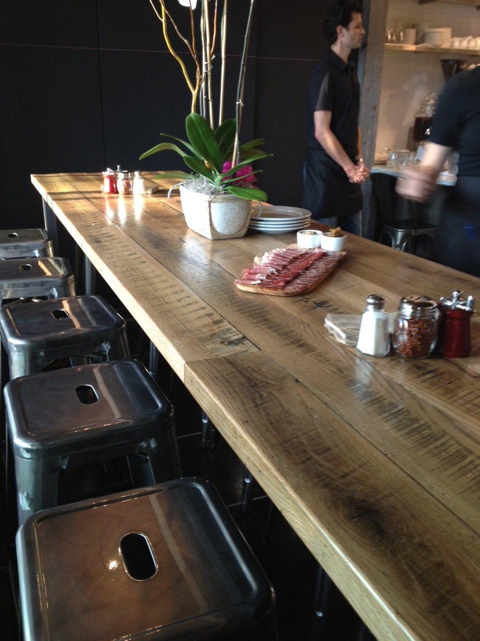 Reclaimed Wood Tables Black S Farmwood Reclaimed Wood Table Wood Table Reclaimed Wood Restaurant