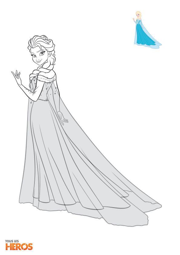 Coloriez anna la reine d 39 arendelle elle est vraiment - Coloriage princesse ambre ...