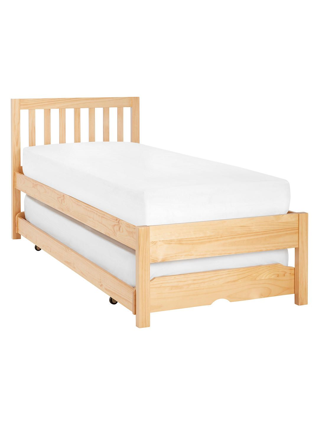 John lewis u partners wilton child compliant trundle guest bed with