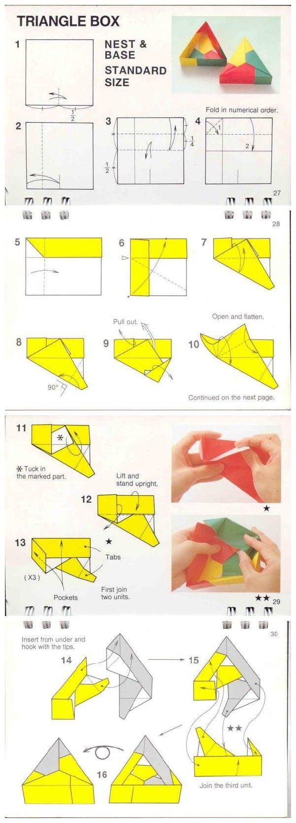 Caixa triangular tamanho standard