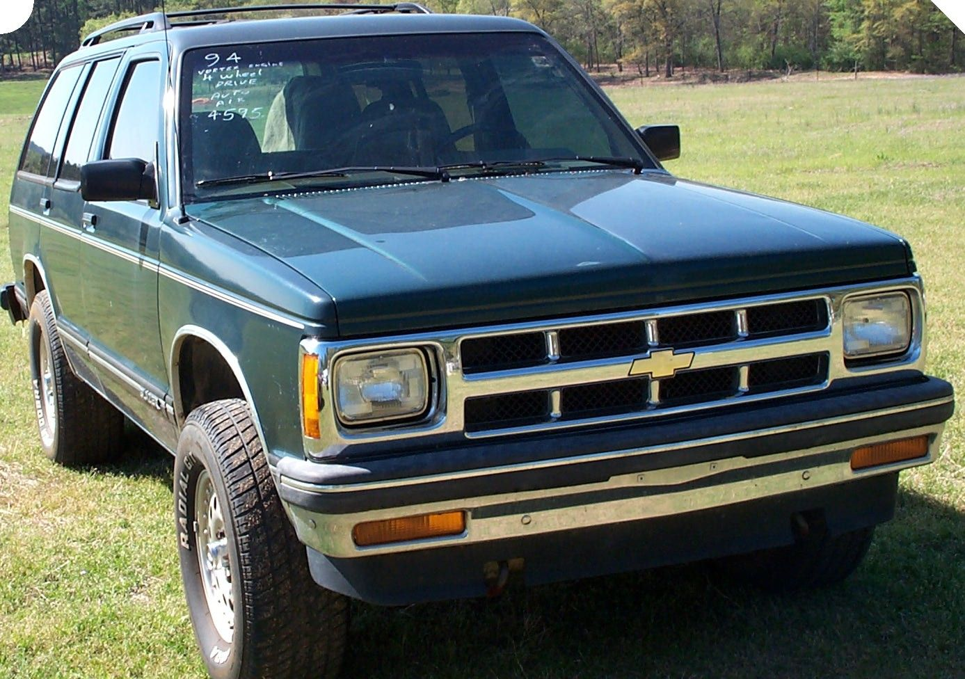 My 13th car, 1994 Chevrolet Blazer S10, with leather seats ...